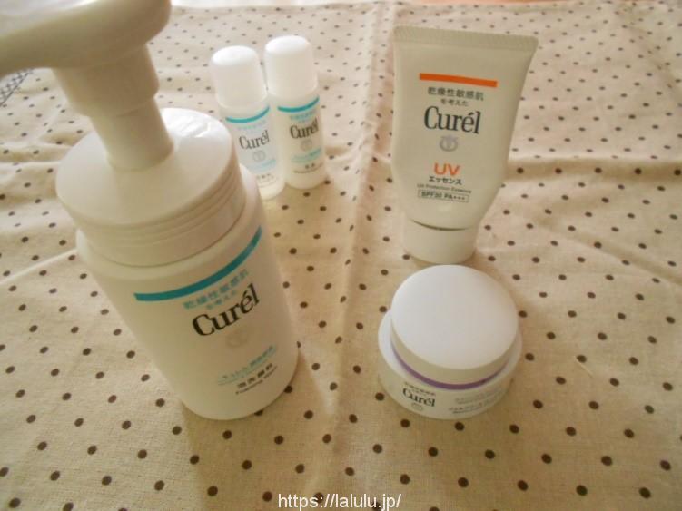 【キュレルの口コミ】30代敏感肌におすすめのキュレル化粧品Best3